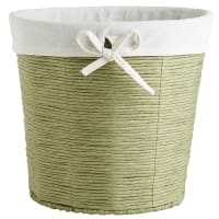 Pier 1 ImportsGreen Paper Rope Waste Basket