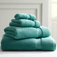 Pier 1 ImportsIndulgence Turquoise Hand Towel