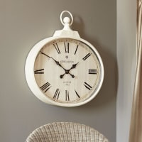 Pier 1 ImportsIvory Antiqued Wall Clock