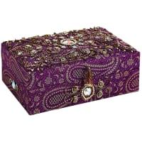 Pier 1 ImportsJacquard Purple Jewelry Box