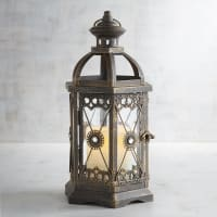 Pier 1 ImportsJewel Hexagon Black Small Metal Lantern