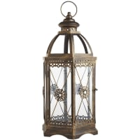 Pier 1 ImportsJewel Hexagon Black Large Metal Lantern