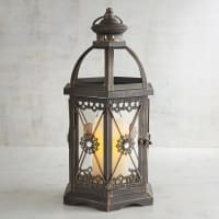 Pier 1 ImportsJewel Hexagon Black Medium Metal Lantern