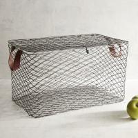 Pier 1 ImportsKasey Lidded Iron Large Basket