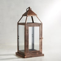 Pier 1 ImportsLanden Small Copper Metal Lantern
