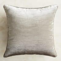 Pier 1 ImportsLuxe Velvet Striped Silver Pillow