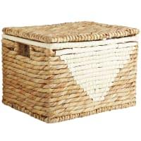 Pier 1 ImportsMila Nautal Wicker Small Lidded Basket