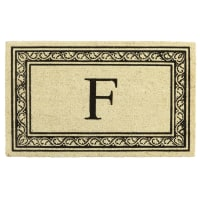Pier 1 ImportsMonogram Doormat - F