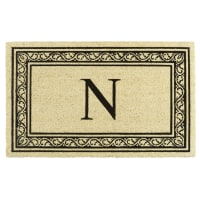 Pier 1 ImportsMonogram Doormat - N