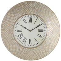 Pier 1 ImportsMosaic Wall Clock - Ivory
