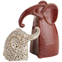 Pier 1 ImportsMother & Baby Elephant Bookend Set