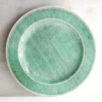 Pier 1 ImportsNewport Teal Melamine Dinner Plate