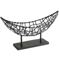 Pier 1 ImportsNomad Black Weave Metal Boat Basket