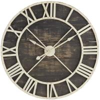 Pier 1 ImportsOversize Black Rustic Wall Clock