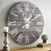 Pier 1 ImportsOversize Deer Silhouette Wall Clock