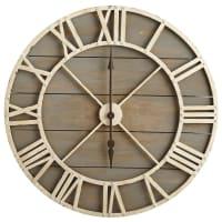 Pier 1 ImportsOversize Gray Rustic Wall Clock