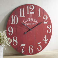 Pier 1 ImportsOversize Red Gather Wall Clock