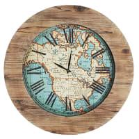 Pier 1 ImportsOversize World Map Wall Clock