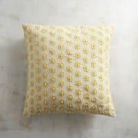 Pier 1 ImportsPearl Daisy Yellow Pillow