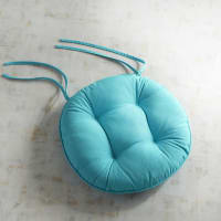 Pier 1 ImportsRound Bistro Dining Chair Cushions in Cabana Turquoise