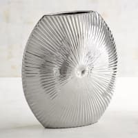Pier 1 ImportsShort Silver Starburst Vase