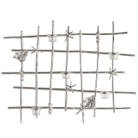 Pier 1 ImportsSilver Seaside Tealight Candle Wall Sconce