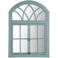 Pier 1 ImportsTurquoise Garden Window Mirror