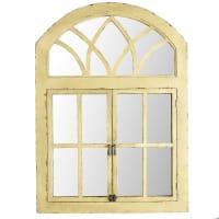 Pier 1 ImportsYellow Garden Window Mirror