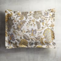 Pier 1 ImportsYellow Seraphina Floral King Pillow Sham