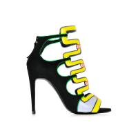 Pierre HardyKaliste Multicolor Suede Sandal