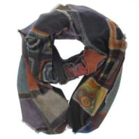Pierre-Louis MasciaPrinted Wool & Cashmere Scarf Herbst/Winter