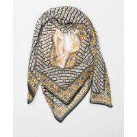 PimkieFeines bedrucktes Halstuch Naturweiß, Größe 00 -Pimkie- Mode für Damen