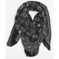 PimkieQuadratisches Halstuch mit Bandana-Motiv Schwarz, Größe 00 -Pimkie- Mode für Damen