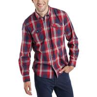 Pioneer Authentic JeansMen Shirt, Camisa Informal Para Hombre, Rojo (warm red 807), Medium