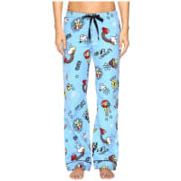 PJ SalvageGood Vibes Flannel PJ Pants (Blue) Womens Pajama