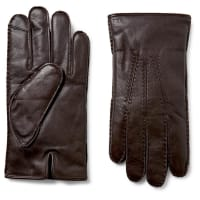 Polo Ralph LaurenCashmere And Thinsulate-lined Leather Gloves - Dark brown