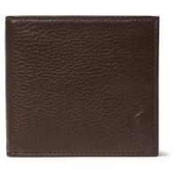 Polo Ralph LaurenGrained-leather Billfold Wallet - Brown