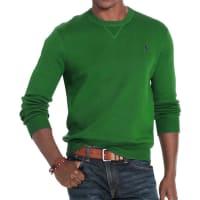 Polo Ralph LaurenPull droit en coton uni