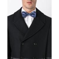 Ports 1961Shiny Satin bow tie, Mens, Blue