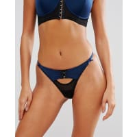 Pour MoiContradiction By Pour Moi Hook Up Thong - Blue
