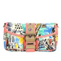 PradaMulti-colored Nylon Venice Collection Bag Shw