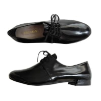 PradaPrada Classic Lace Up Black Shoes New With Box
