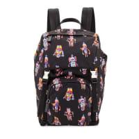 PradaRobot Nylon Utilitarian Backpack, Black