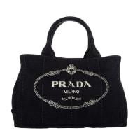 PradaUmhängetaschen - Canapa Shopping Bag Nero - in schwarz für Damen