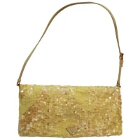PradaYellow Sequined Prada Handbag