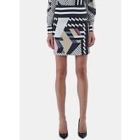 PreenKahia Short Stripe Skirt