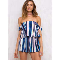 Princess PollyWomens After The Disco Playsuit Blue 10