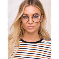 Princess PollyWomens Bobbi Glasses Tortoise One Size