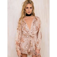 Princess PollyWomens Dark Empire Playsuit Gold 10
