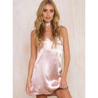 Princess PollyWomens Fia Slip Dress Blush 10